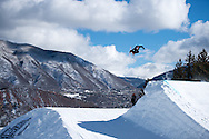 Oscar Wester during Ski Slopestyle Practice during 2015 X Games Aspen at Buttermilk Mountain in Aspen, CO. ©Brett Wilhelm/ESPN