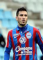 Jean CALVE - 15.12.2012 - Nantes / Caen - 18eme journee de Ligue 2<br /> Photo : Fred Porcu / Icon Sport *** Local Caption ***
