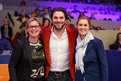 Mariette Sanders-Van Gansewinkel, Xander de Buisonjé, Madeleine Witte-Vrees<br /> KWPN Stallionshow - 's Hertogenbosch 2018<br /> © Hippo Foto - Dirk Caremans<br /> 03/02/2018