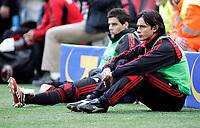 "Filippo Inzaghi (Milan) rimane in panchina per tutta la partita<br /> Italian ""Serie A"" 2006-2007<br /> 18 Mar 2007 (Match Day 29)<br /> Milan-Atalanta (1-0)<br /> ""Giuseppe Meazza"" Stadium-Milano-Italy<br /> Photographer:Jennifer Lorenzini INSIDE"