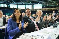 27 APR 2013, BERLIN/GERMANY:<br /> Bundesdelegiertenkonferenz Buendnis 90 / Die Gruenen, Velodrom<br /> IMAGE: 20130427-01-085<br /> KEYWORDS: Parteitag, Bundesparteitag, BDK, party congress, Bündnis 90 / Die Grünen, B90/Gruene, B90/Grüne