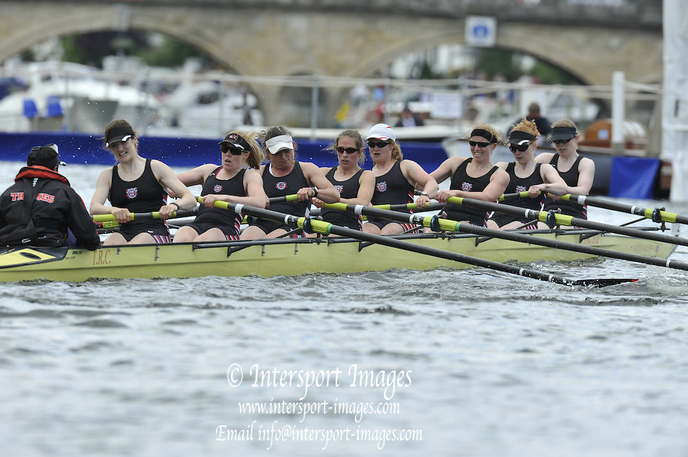 Henley, Great Britain.The Rememham Challenge Cup. Thames RC.  Henley Royal Regatta. River Thames Henley Reach.  Royal Regatta. River Thames Henley Reach.  Friday   01/07/2011  [Mandatory Credit Peter Spurrie r/ Intersport Images] 2011 Henley Royal Regatta. HOT. Great Britain . HRR