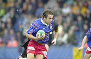 Shepards Bush, West London, UK., 30.09.2001, Thomas Lombard,  London Wasps vs Stade Francais, Loftus Road Stadium,<br /> Heineken European Rugby Cup,<br /> [Mandatory Credit: Peter Spurrier/Intersport Images],