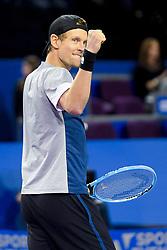 February 8, 2019 - Montpellier, France, FRANCE - joie de Tomas Berdych  (Credit Image: © Panoramic via ZUMA Press)