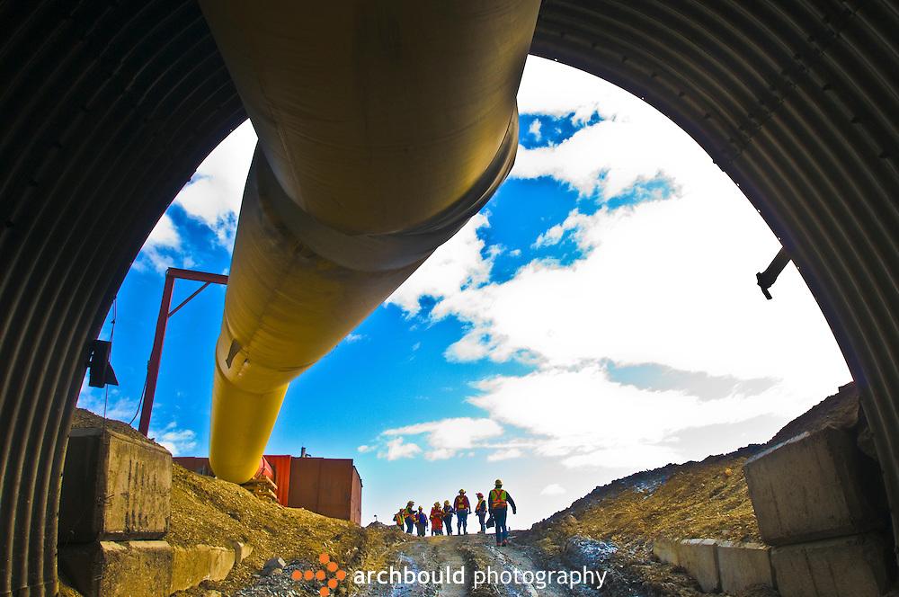 Yukon, mining, underground,  iron ore, gold, equipment