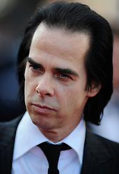 Singer Nick Cave arrives for the screening of 'Lawless' presented in competition at the 65th Cannes film festival on May 19, 2012 in Cannes. Photo Ki Price/i-Images