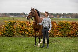 Tormans Martijn, BEL, Origi van't Roosacker<br /> Stoeterij Den Berg - Retie 2020<br /> © Hippo Foto - Dirk Caremans<br /> 17/11/2020