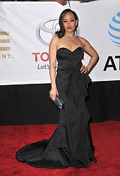 Dawn-Lyen Gardner at The 49th NAACP Image Awards held at the Pasadena Civic Auditorium on January 15, 2018 in Pasadena, CA, USA (Photo by Sthanlee B. Mirador/Sipa USA)