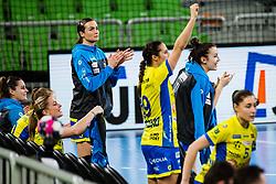Stanko Tjasa of Metz Handball (FRA)  during handball match between RK Krim Mercator (SLO) vs Metz Handball  (FRA) in DELO EHF Women's Champions League 2020/21, on January 16, 2021 in SRC Stozice, Ljubljana, Slovenia. Photo by Grega Valancic / Sportida