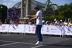 June 23, 2017 - Paris, France, France - Tony Estanguet - co president Paris2024.Illustration Tennis sur le Pont Alexandre III (Credit Image: © Panoramic via ZUMA Press)