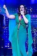 Concert Ladies of Soul 2015 in de Ziggo Dome, Amsterdam.<br /> <br /> Op de foto:  Trijntje Oosterhuis
