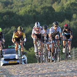 21-08-2020: Wielrennen: NK U23: Drijber<br /> Kopgroep op de VAMberg