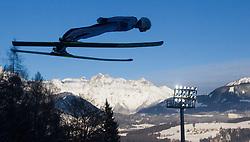 06.01.2015, Paul Ausserleitner Schanze, Bischofshofen, AUT, FIS Ski Sprung Weltcup, 63. Vierschanzentournee, Probedurchgang, im Bild Manuel Poppinger (AUT) // Manuel Poppinger of Austria during Trial Jump of 63rd Four Hills Tournament of FIS Ski Jumping World Cup at the Paul Ausserleitner Schanze, Bischofshofen, Austria on 2015/01/06. EXPA Pictures © 2015, PhotoCredit: EXPA/ JFK