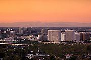 Irvine, Orange County, California At Sunset