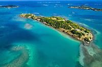 France, Martinique, le François, la baie du François, îlet Métrente // France, West Indies, Martinique, the François, the bay of François, islet Métrente