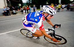 Marko Kump at Slovenian National Championships in Road cycling, 178 km, on June 28 2009, in Mirna Pec, Slovenia. (Photo by Vid Ponikvar / Sportida)