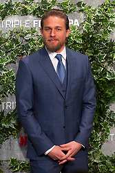 Charlie Hunnam attends the Triple Frontier premiere held at Callao Cinema on March 6, 2019 in Madrid, Spain. Photo by Alconada/AlterPhotos/ABACAPRESS.COM