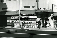 1977 World Book & News Co. on east side of Cahuenga Blvd., just south of Hollywood Blvd.