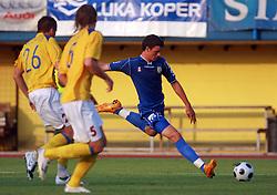 Haris Vuckic of Domzale at 7th Round of PrvaLiga Telekom Slovenije between FC Koper vs NK Domzale, on August, 2008, in SRC Bonifika, in Koper, Slovenia. (Photo by Vid Ponikvar / Sportal Images)