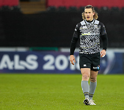 Ospreys' Jeff Hassler<br /> <br /> Photographer Simon King/Replay Images<br /> <br /> EPCR Champions Cup Round 4 - Ospreys v Northampton Saints - Sunday 17th December 2017 - Parc y Scarlets - Llanelli<br /> <br /> World Copyright © 2017 Replay Images. All rights reserved. info@replayimages.co.uk - www.replayimages.co.uk
