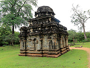 Shiva Devale number 2 temple, UNESCO World Heritage Site, the ancient city of Polonnaruwa, Sri Lanka, Asia