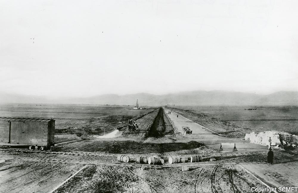 1924 Van Nuys Blvd being prepared for paving