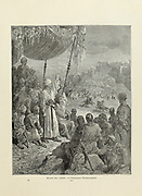 Friendly Tournament Plate LXXI from the book Story of the crusades. with a magnificent gallery of one hundred full-page engravings by the world-renowned artist, Gustave Doré [Gustave Dore] by Boyd, James P. (James Penny), 1836-1910. Published in Philadelphia 1892