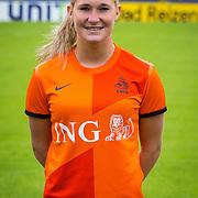 NLD/Velsen/20130701 - Selectie Nederlands Dames voetbal Elftal, Desiree van Lunteren