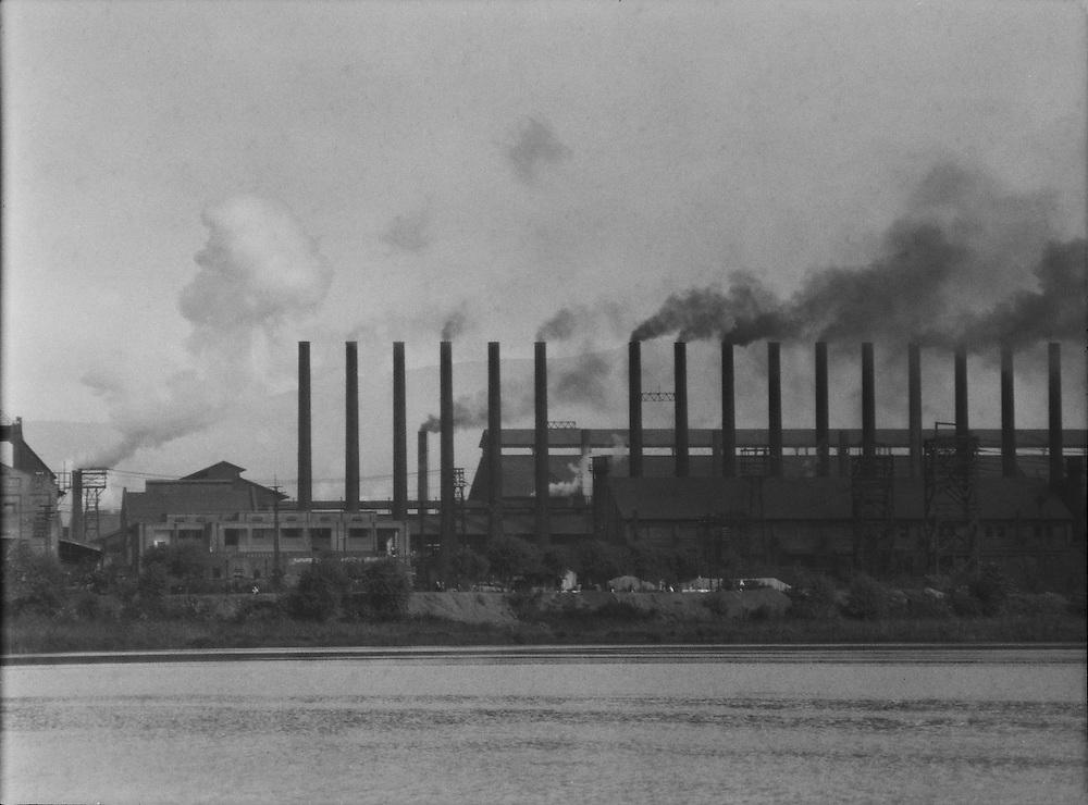 Smoke, Tata Iron & Steel Works, Jamshedpur, India, 1929