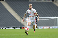 MK Dons midfielder Carl Baker during the Sky Bet Championship match between Milton Keynes Dons and Rotherham United at stadium:mk, Milton Keynes, England on 9 April 2016. Photo by Dennis Goodwin.