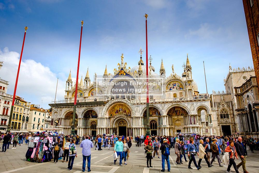 St. Mark's Basilica in St. Mark's Square (Piazza San Marco) in Venice, Italy<br /> <br /> (c) Andrew Wilson | Edinburgh Elite media