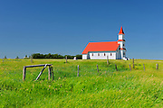 St. Martin's Roman Catholic Church<br /> near Mankota<br /> Saskatchewan<br /> Canada