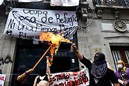 Women Protests Against Feminicides