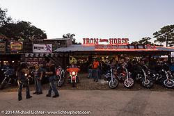 The Iron Horse Saloon during Biketoberfest, Ormond Beach, FL, October 17, 2014, photographed by Michael Lichter. ©2014 Michael Lichter