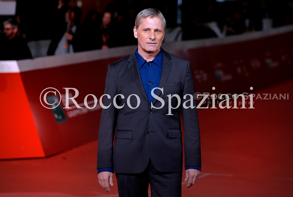Viggo Mortensen walks the red carpet ahead of the 'Green Book' screening during the 13th Rome Film Fest at Auditorium Parco Della Musica on October 24, 2018 in Rome, Italy.