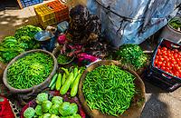 Vegetable market, Jaipur, Rajasthan, India.