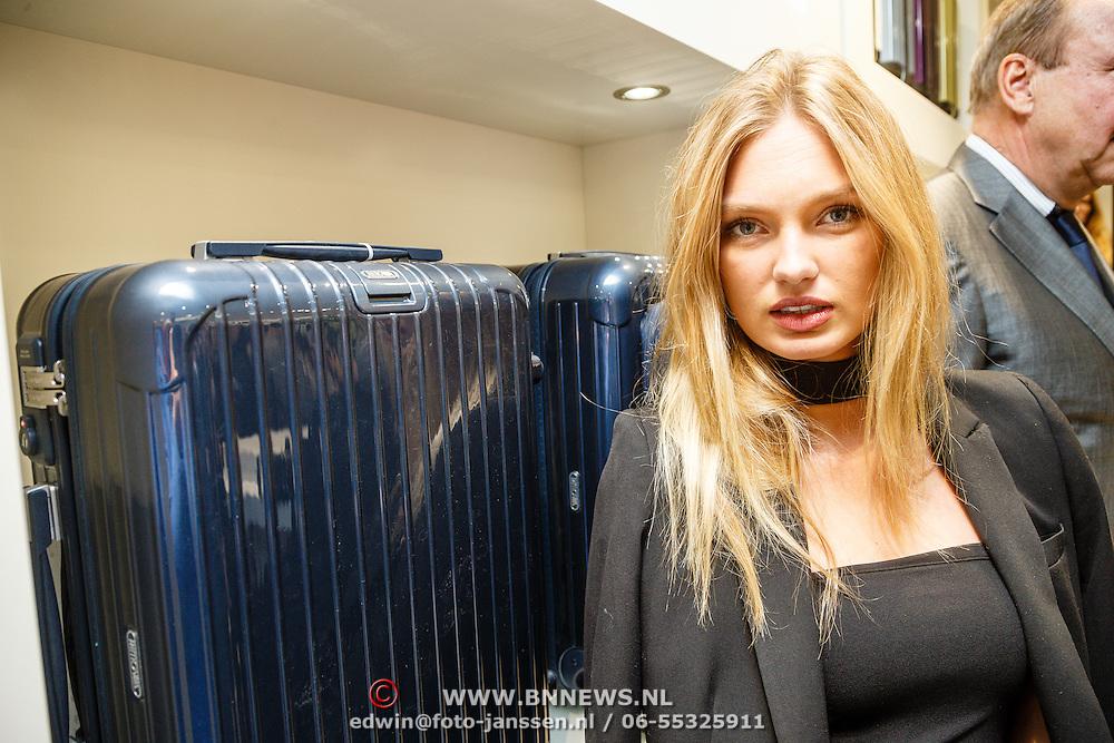 NLD/Amsterdam/20160223 - Opening 1e brandstore Rimowa,