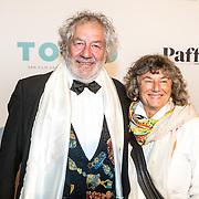 NLD/Amsterdam/20161005 - Filmpremiere Tonio, Chiem van Houweningen en partner Marina de Vos