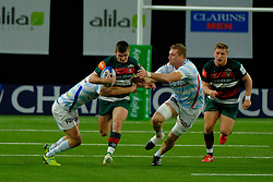 December 9, 2018 - Nanterre, Hauts de Seine, France - Leicester Wing JONNY MAY in action during the rugby Champions Cup Day 3 between Racing 92 and Leicester at U Arena Stadium in Nanterre - France..Racing 92 Won 36-26. (Credit Image: © Pierre Stevenin/ZUMA Wire)