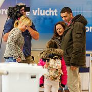 NLD/Schiphol/20140326 - Opname Hello Goodbye op Schiphol met Yvon Jaspers