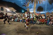 "Feast of ""Mamacha del Carmen"" of Paucartambo. Guerrilla. The struggle between Chunchus and Qollas"
