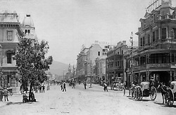 Cape Town. Historical picture of Cape Town's Adderley Street. INDEPENDENT MEDIA ARCHIVES. LEGACY LEGACY SPECIAL RATES