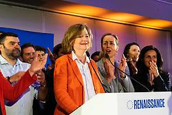 May 26, 2019 - Paris, France - Nathalie Loiseau a la soiree electorale renaissance (Credit Image: © Panoramic via ZUMA Press)