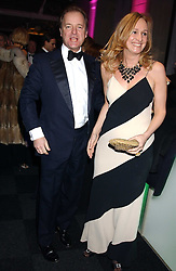 HUGO SWIRE MP and his wife at the Conservative Party's Black & White Ball held at Old Billingsgate, 16 Lower Thames Street, London EC3 on 8th February 2006.<br /><br />NON EXCLUSIVE - WORLD RIGHTS