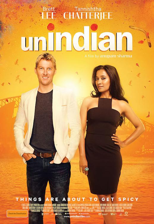 Unindian feature film key art