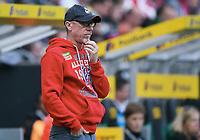 Trainer Peter Stoeger (Koeln)<br /> Moenchengladbach, 20.08.2017, Fussball Bundesliga, Borussia Moenchengladbach - 1. FC Köln 1:0<br /> <br /> Norway only