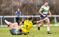 West Wales Raiders v North Wales Crusaders<br /> <br /> Photographer Craig Thomas/Replay Images<br /> <br /> <br /> Betfred League 1 - West Wales Raiders v North Wales Crusaders  - Friday 30th March 2018 - Stebonheath Park - Llanelli<br /> <br /> World Copyright © 2017 Replay Images. All rights reserved. info@replayimages.co.uk - www.replayimages.co.uk