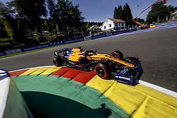 August 31, 2019, Spa-Francorchamps, Belgium: Motorsports: FIA Formula One World Championship 2019, Grand Prix of Belgium, ..#55 Carlos Sainz jr. (ESP, McLaren F1 Team) (Credit Image: © Hoch Zwei via ZUMA Wire)