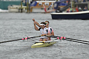 Henley, GREAT BRITAIN. Double Sculls Challenge cup. Leander club. winning the final at 2012 Henley Royal Regatta.  ..Sunday  14:48:23  01/07/2012. [Mandatory Credit, Peter Spurrier/Intersport-images]...Rowing Courses, Henley Reach, Henley, ENGLAND . HRR.