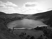 Cloghoge River lough tay mountains of Djouce, Luggala,